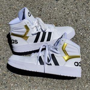 Adidas Entrap Mid High Top Basketball Shoes